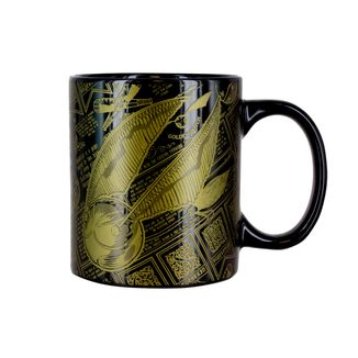 Taza Snitch Dorada boceto Harry Potter