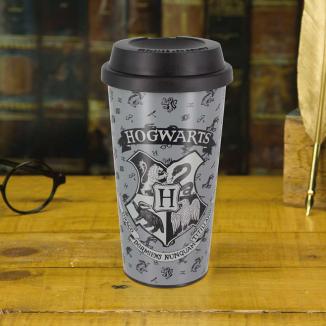 Travel glass emblem Hogwarts - Harry Potter