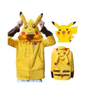 Chaqueta con Orejas Pikachu Pokémon
