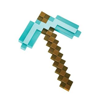 Diamond Pickaxe Replica Minecraft