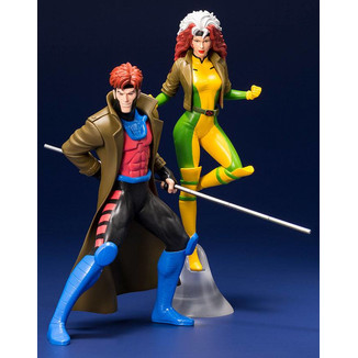 Gambit & Rogue X-Men 92 Figure Set ARTFX+ Marvel Universe