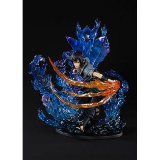 Figura Naruto Shippuden - Sasuke Uchiha Susanoo Kizuna Relation - Figuarts Zero
