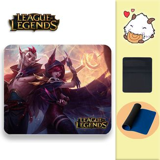 Alfombrilla League of Legends - Xayah y Rakan