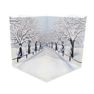 Cherry Blossom Road Winter Dioramansion 150