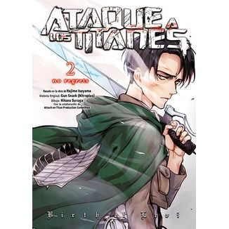 Ataque A Los Titanes No Regrets #02 (Edición en Color) (spanish) Manga Oficial Norma Editorial