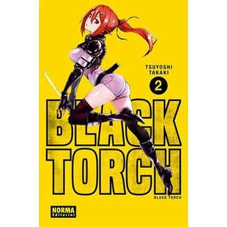 Black Torch #02 Manga Oficial Norma Editorial