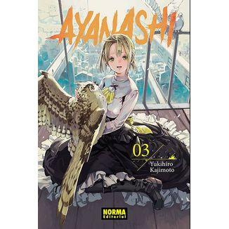 Ayanashi #03 Manga Oficial Norma Editorial (spanish)