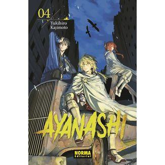 Ayanashi #04 Manga Oficial Norma Editorial (spanish)