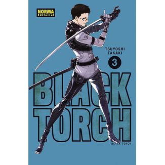 Black Torch #03 Manga Oficial Norma Editorial (spanish)