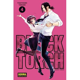 Black Torch #04 Manga Oficial Norma Editorial