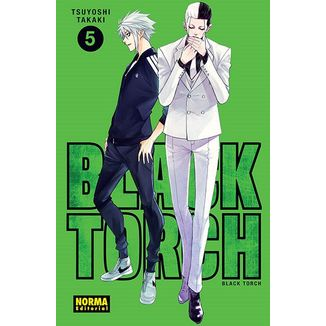 Black Torch #05 Manga Oficial Norma Editorial