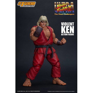 Figura Violent Ken Ultra Street Fighter II The Final Challengers