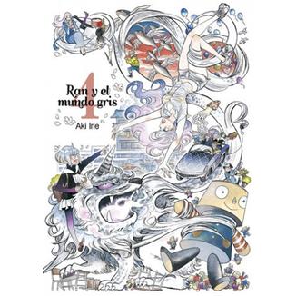 Ran y el Mundo Gris #04 Manga Oficial Tomodomo