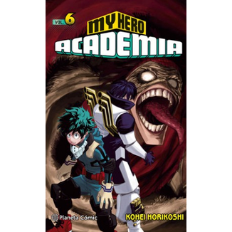 My Hero Academia #06 Manga Oficial Planeta Comic