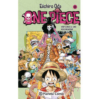 One Piece #81 Manga Oficial Planeta Comic
