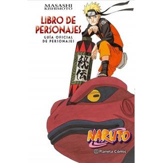 Naruto - Libro de Personajes Oficial Planeta Comic(Spanish)