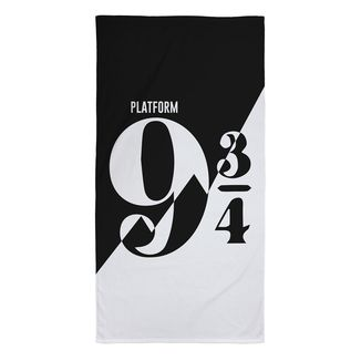 Platform 9 3/4 Towel Harry Potter