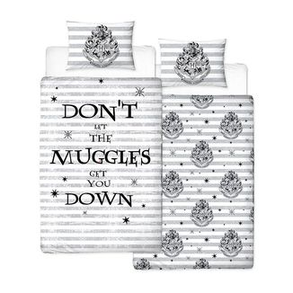 Spell Reversible Duvet Set Harry Potter