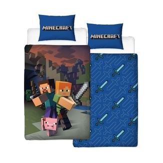 Good Guys Reversible Duvet Set Minecraft