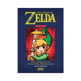 The Legend of Zelda Perfect Edition #03: The Minish Cap y Phantom Hourglass Manga Oficial Norma Editorial