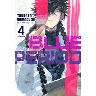 Blue Period #04 Manga Oficial Milky Way Ediciones (Spanish)