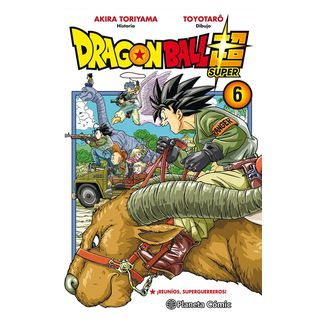 Dragon Ball Super #06 Manga Oficial Planeta Comic (spanish)