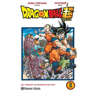 Dragon Ball Super #08 Manga Oficial Planeta Comic