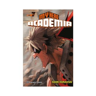 My Hero Academia #07 Manga Oficial Planeta Comic