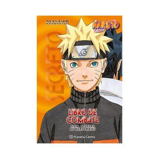 Naruto - Libro de combate Manga Oficial Planeta Comic (Spanish)
