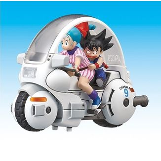 Bulma Capsule No.9 Model Kit Dragon Ball Mecha Collection Vol. 1