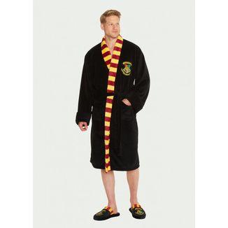 Bata Polar Harry Potter - Hogwarts Negra con corbata