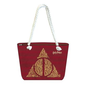 Bolso de playa Reliquias de la Muerte Harry Potter