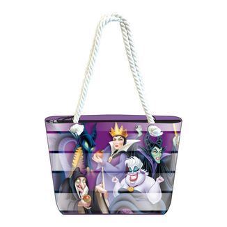 Bolso de playa Villains Disney