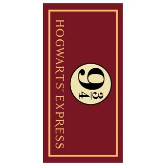 Hogwarts Express Towel Harry Potter