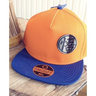 "Gorra Son Goku Kanji ""Go"" Dragon Ball Z"