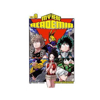 My Hero Academia #08 Manga Oficial Planeta Comic
