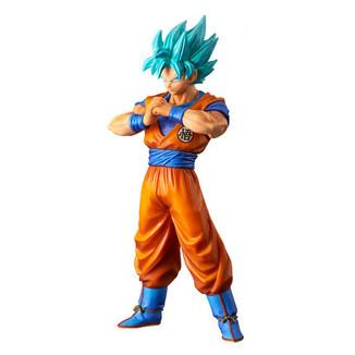 Figura Dragon Ball Super - SS Goku God - Super Warriors vol 4 DXF