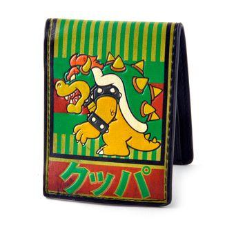 Bowser Kanji Wallet Bifold Nintendo