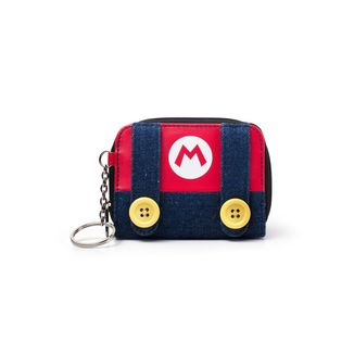 Super Mario Bros Zipper Wallet Nintendo