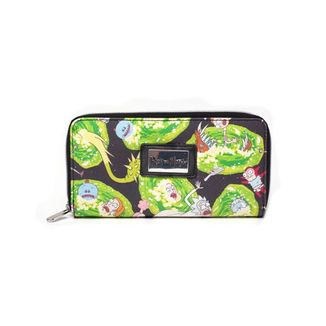 Portals Wallet Zipper Rick and Morty