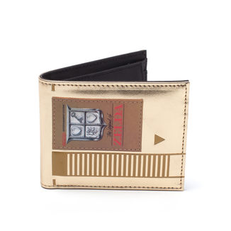 Golden NES Cartridge Wallet Bifold The Legend Of Zelda