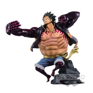 Figura One Piece - Monkey D. Luffy Gear Fourth - Colosseum SCultures Zoukeiou Special Color