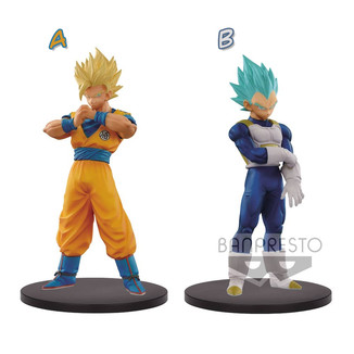 Figura Dragon Ball GT - Goku SS2 Vegeta SSB - The Super Warriors vol 5 DXF