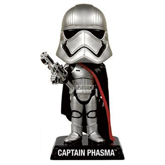 Figura Star Wars - Captain Phasma - Wacky Wobbler