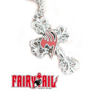 Colgante Fairy Tail - Emblema y cruz