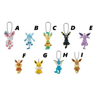 Pokémon Gashapon Mascot Eevee and Friends