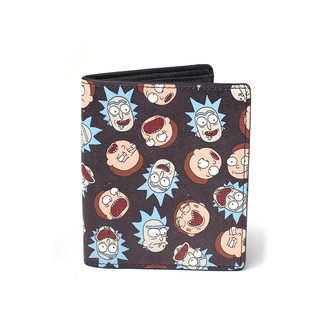 Cartera Rick y Morty - All Over Bi-fold