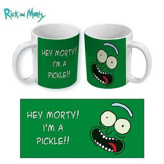 Taza Rick y Morty - Pickle Rick