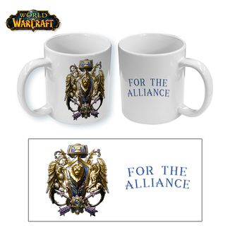 Taza World of Warcraft - For the Alliance