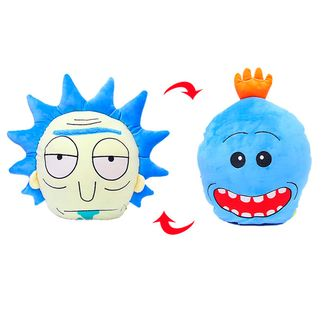Cojín reversible Rick/Mr. Meeseeks Rick y Morty